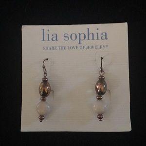Lia Sophia dangle earrings